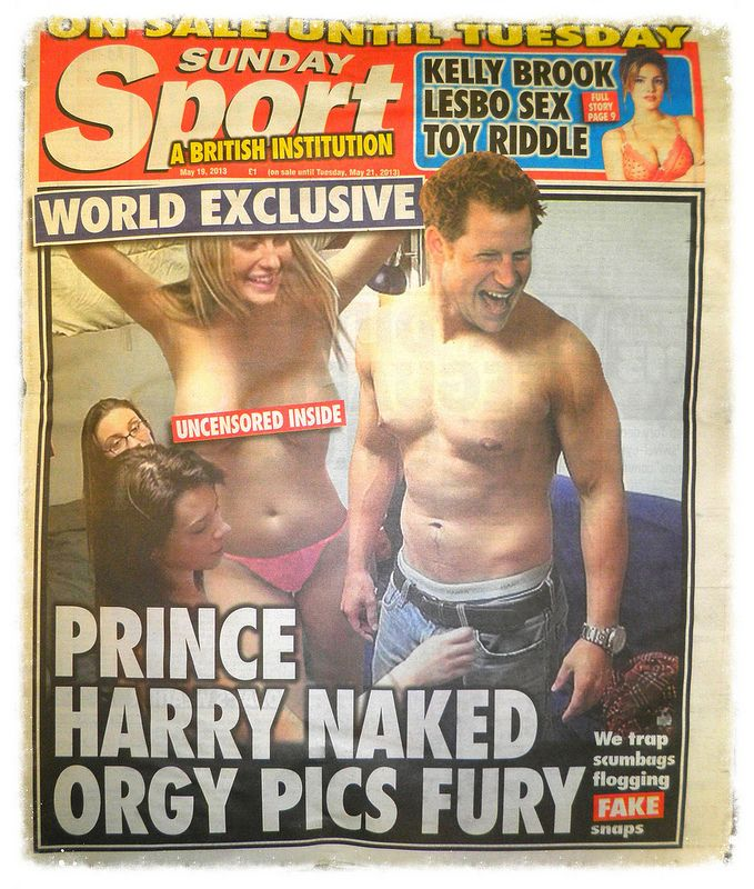 Prince harry nude uncensored