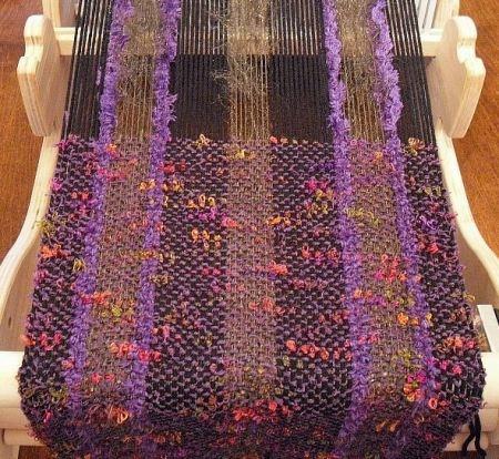 Beautiful scarf made on a Cricket loom..