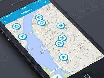 Map filters and menu