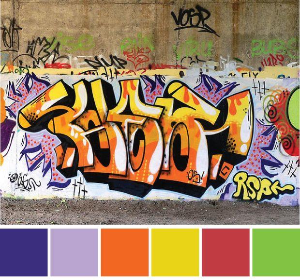 19 Best Images About Graffiti Colors On Pinterest Colour