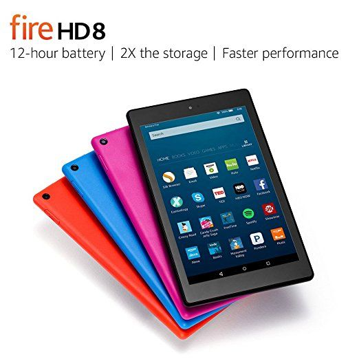 Fire HD 8 - Amazon Official Site - Up to 12-hour battery