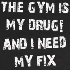 This is me. Love my #gym time <3