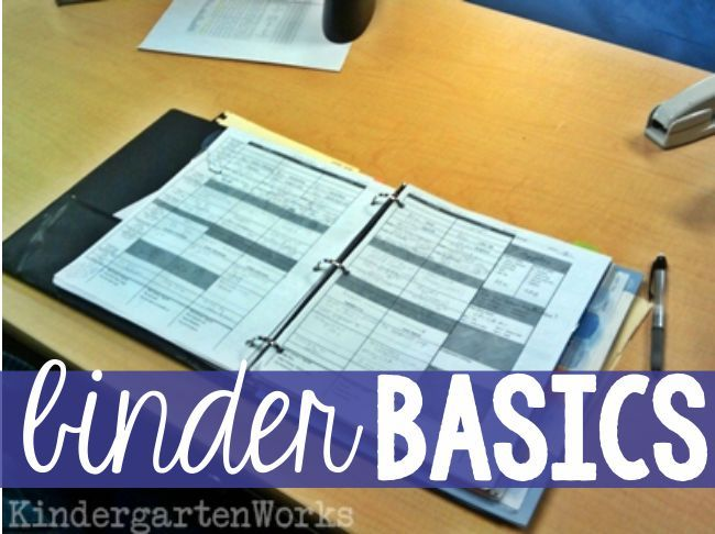 Binder Basics {How to Make a Teacher Planning Binder}-- I like how my mentor teacher had her binder that she kept most of her documentation. I want to implement the bracelet idea for the first two weeks and, if necessary, the verbal warnings.