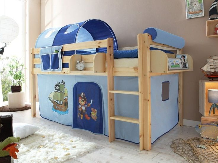 the 25+ best cameretta bambini a soppalco ideas on pinterest - Camerette In Legno Naturale