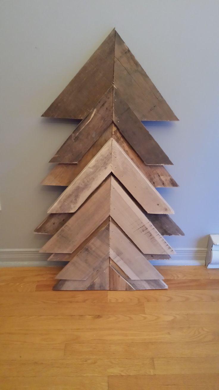 Decorative Christmas tree, handmade art. 25$ at www.nancy-cie.com