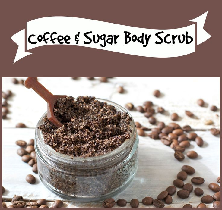 coffee and sugar body scrub