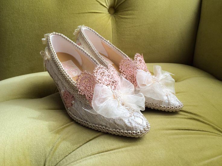 Marie Antoinette scarpe tacchi Costume barocco rococò