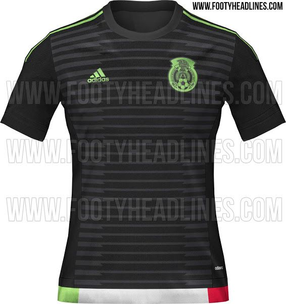 Alleged Mexico Copa America 2015 home