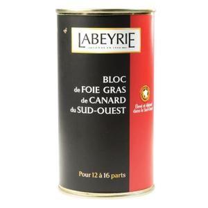 FOIE GRAS LABEYRIE Bloc Foie Gras de Canard 500g