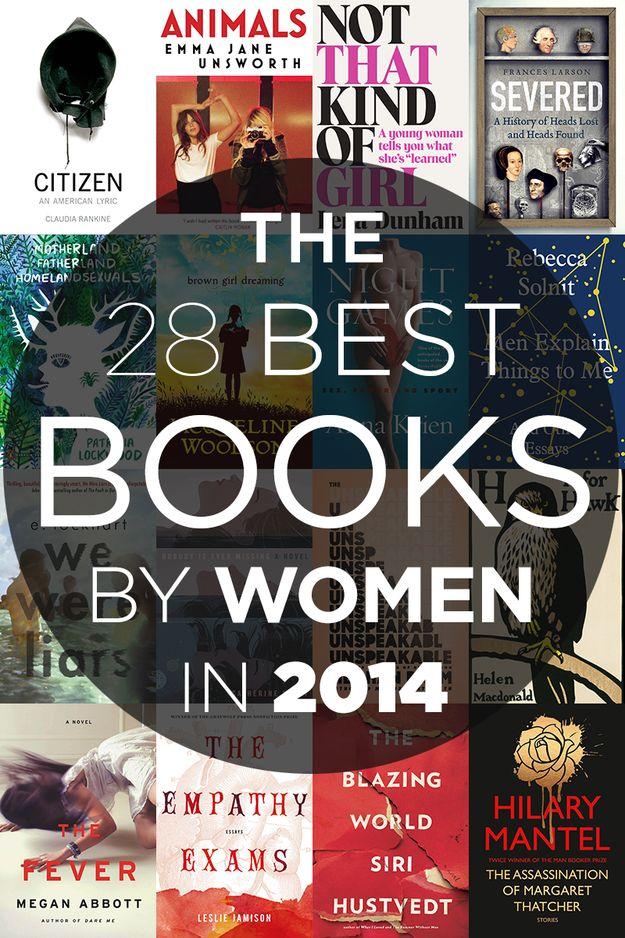 The 28 Best Books By Women In 2014