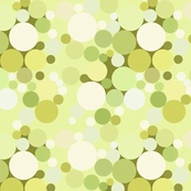 Green Bubbles--will be available to buy on spoonflower by about march 21
