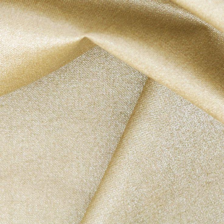 Tissu coton Tout ce qui brille Frou-Frou - Scintillant Uni Doré x1 - Perles & Co
