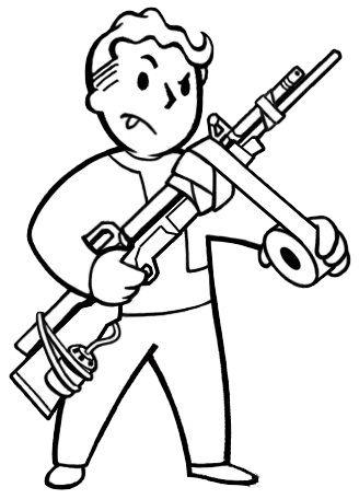 Survivalist's rifle - Fallout Wiki