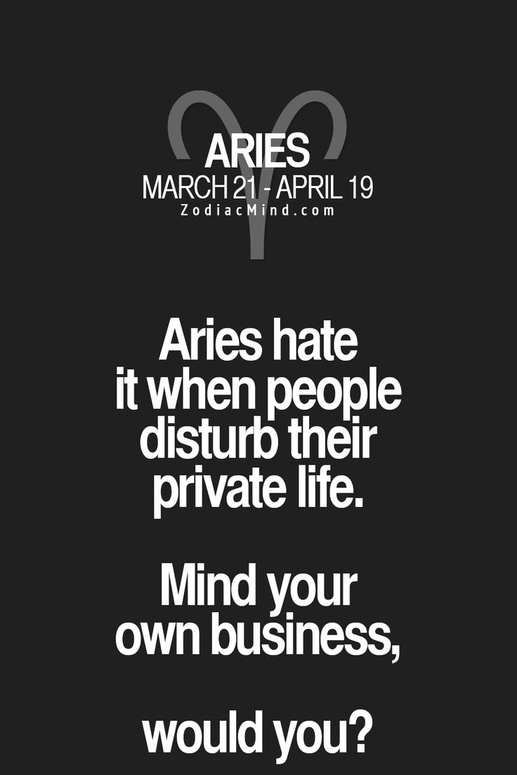 aries relationship facts
