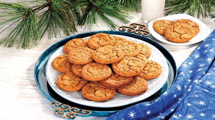 Penzey's Cinnamon-Ginger Cookies/Made these 11-19-14, didn't bother to sift the flour and spices.  Excellent recipe.*