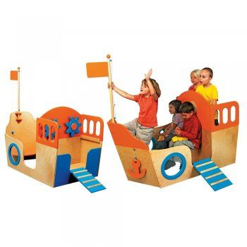 Wooden Boat Play Centre - Image 1 of 1