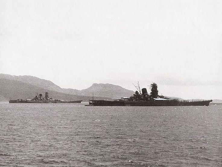 YamatoClassBattleships - 武蔵 (戦艦) - Wikipedia