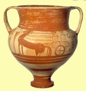 Bronze Age Greek Pottery
