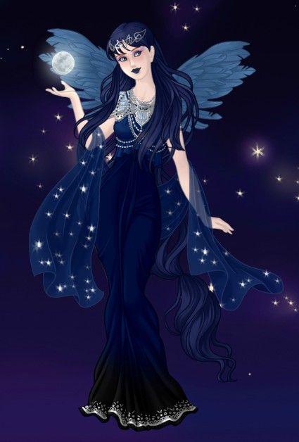 Princess Luna Made By Me On Azalea 39 S Dress Up Dolls Dollmakers Pinterest Princess Luna