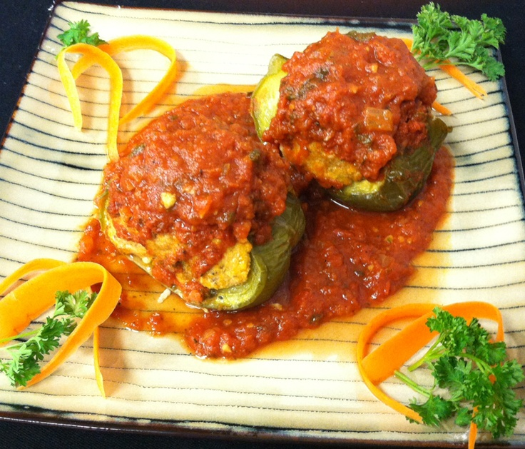 Turkey Stuffed Peppers | Foods to LIVE by | Pinterest