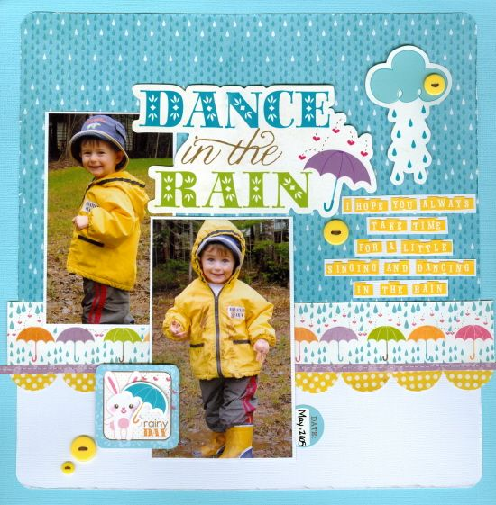 Dance in the rain* New Imaginisce Hippity Hop - Scrapbook.com