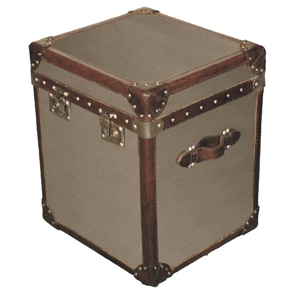 Steamer trunk side table (Halo Styles) | Luggage & Trunks | Pinterest