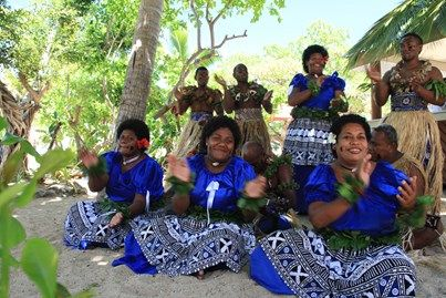 Fijian entertainers