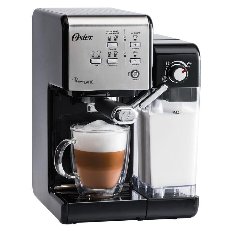 Cafeteira Espresso Oster PrimaLatte Black - OsterBrasil