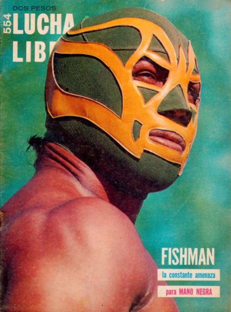 Lucha Libre Magazine, from the 70's