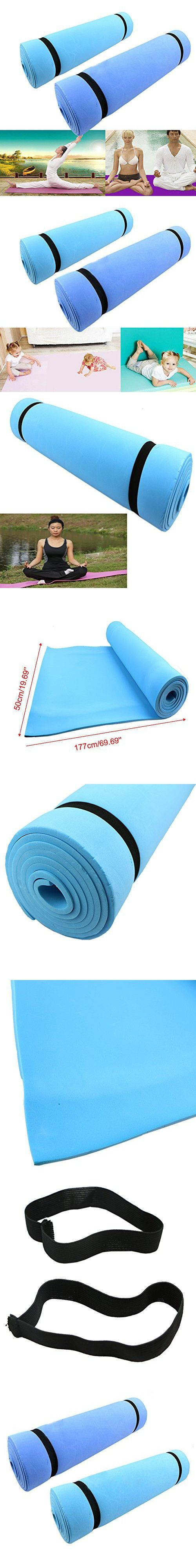 Zjzhao 177500.6cm Dampproof Sleeping Mattress Mat Exercise EVA Foam Yoga Pad 1PC