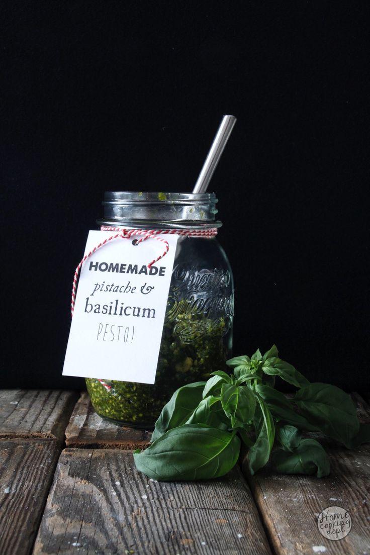 Homemade pesto / 3 geheimen van pesto maken zonder recept / Homecooking dept / In Dutch