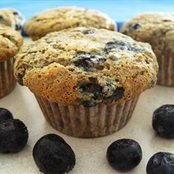Muffins santé aux bleuets et aux bananes (EN TÊTE DE LA LISTE DES RECETTES À ESSAYER)