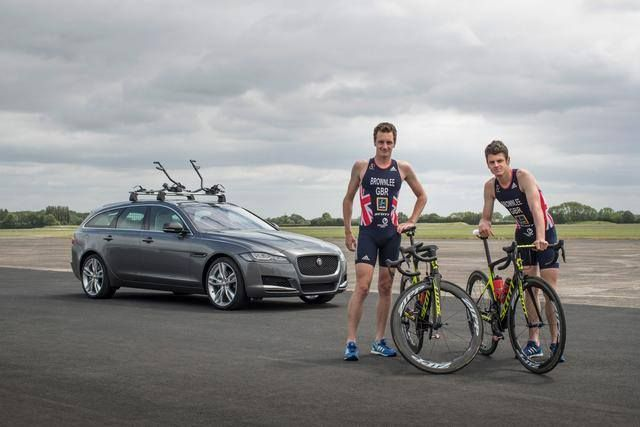 #sport #excellence #pop #jaguar #xf #xfsportbrake Sibling rivalry: Olympic Athletes compete in unique Jaguar XF triathlon What's new on Lulop.com http://ift.tt/2vY9hA4