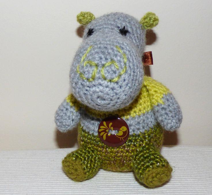 Doudou hippopotame : Tamango
