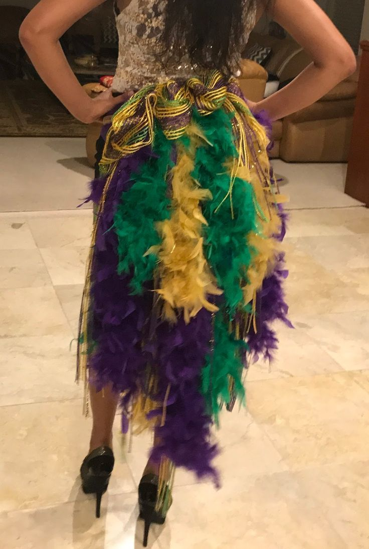 Mardi Gras Boa Tutu! A blog about my passions hoping to inspire you to explore a…