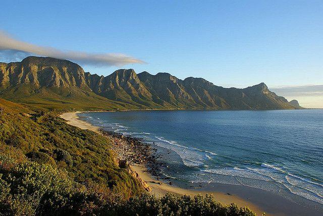 Magic Sunset on Rooi Els Coastal Road, South Africa