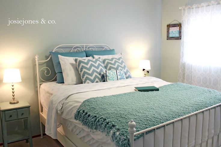 100 best my country home images on pinterest bedding for Bedroom inspiration duck egg blue