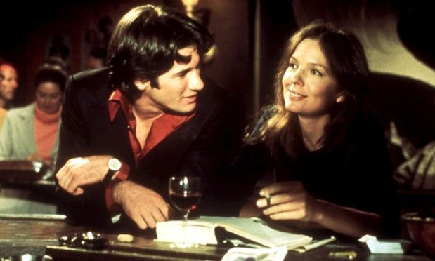 Richard Gere and Diane Keaton in Looking for Mr Goodbar.