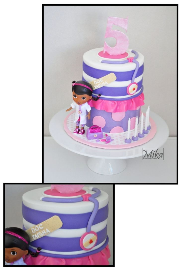 Doc Mcstuffins Cake Made for my Goddaughters 5th birthday