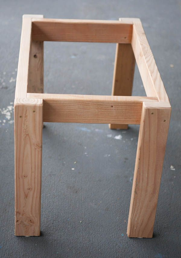Image Result For Farmhouse Table Leg Connection Diy Furniture