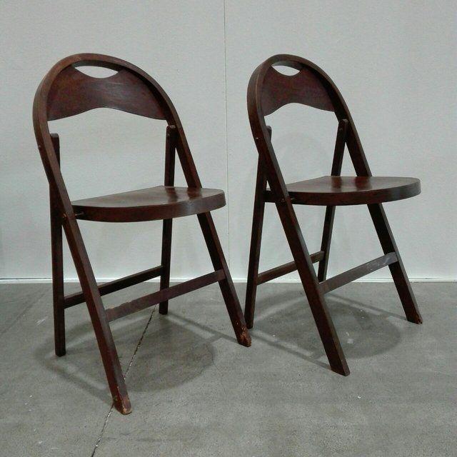 [100€] Coppia di sedie pieghevoli Tric di Castiglioni. Belle comode e funzionali. #magazzino76 #viapadova76 #milano #vintage #modernariato #antiquariato #design #industrialdesign #furniture #mobili #modernfurniture #tavoli #sedie #sedute #arredo #arredodesign #castiglioni #Tric