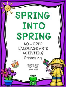 Spring Language Arts Activities