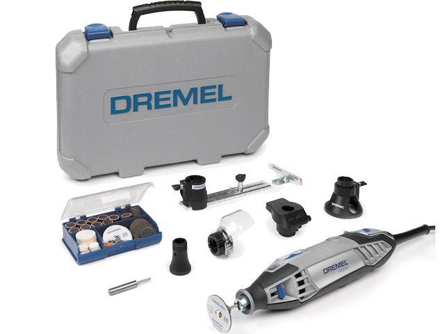 Win 1 of 6 hampers consisting of a Dremel 4200, Dremel MS20-1/5 Moto-Saw, Dremel 940 glue gun, Dremel VersaFlame and a Dremel Multi-Max