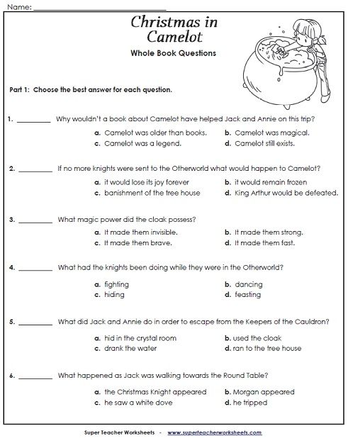 Printables Super Teacher Worksheets Reading 1000 images about reading and writing super teacher worksheets has added new supplemental to go along with the chapter book christmas in camelot from ma