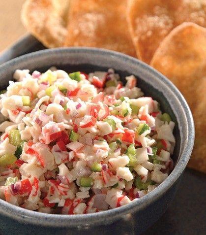 """Deliciosa, nutritiva y muy fresca: """"Ensalada de surimi"""""""