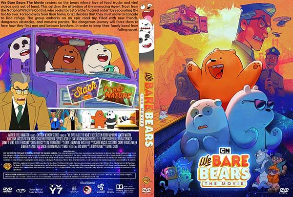 We Bare Bears The Movie 2020 Dvd Cover In 2020 We Bare Bears Bare Bears Dvd Covers