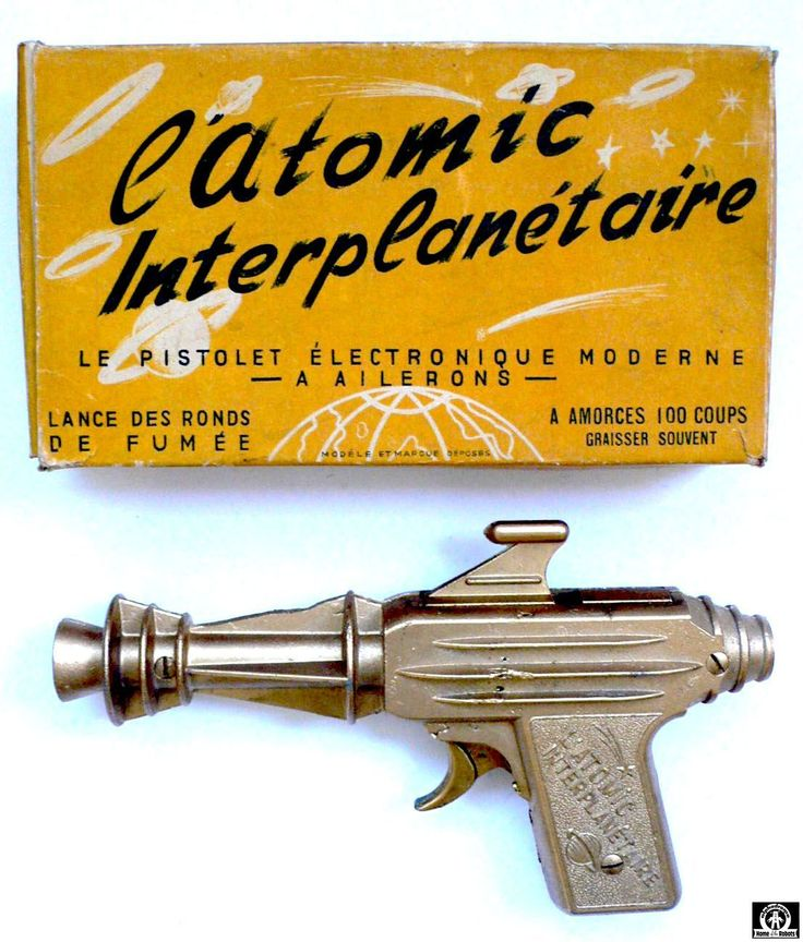 """Image search results - """"cap firing raygun"""" - L'ATOMIC INTERPLANETAIRE - MAKER? - FRANCE - ALPHADROME ROBOT AND SPACE TOY DATABASE"""