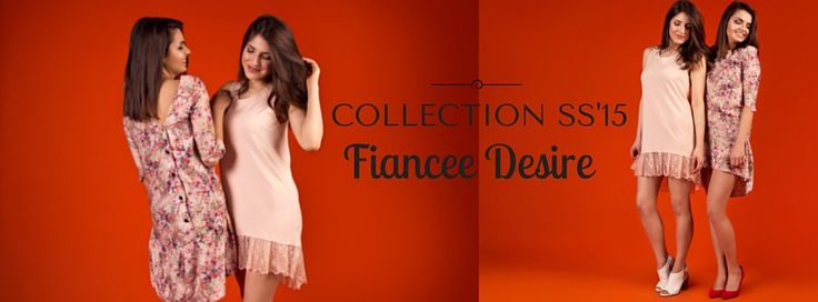 COLLECTION SS'15 Fiance Desire #woman #fashion #polishfashion #polishdesigner #beauty #dress #pink #flower #shortdress