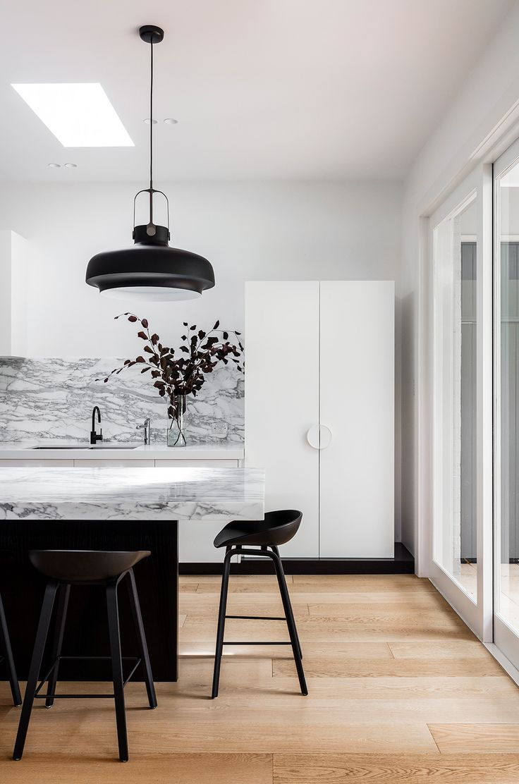 #Marble #Kitchen Hooper House | Arent & Pyke
