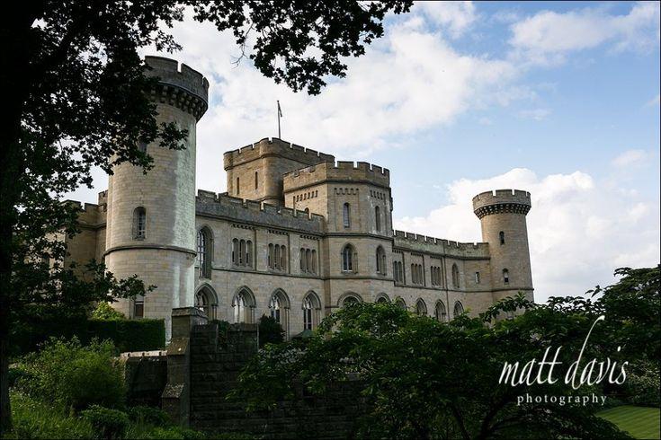 Eastnor Castle wedding venue in the Cotswolds #eastnorcastle